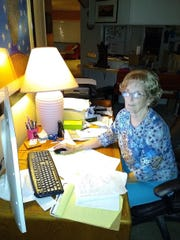 """Nancy Jenkins, 77, of Tempe, is """"The Computer Lady."""""""