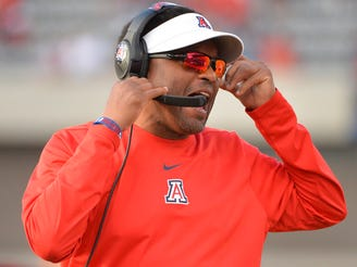 Arizona Wildcats head coach Kevin Sumlin has his work cut out for him against Oregon.