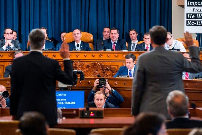 Inician audiencias públicas en juicio político de Trump.
