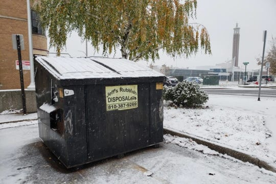 Port Huron announced in November 2019 it was launching a pilot dumpster-share program to help reduce the issue for a growing downtown. City Manager James Freed said an example of a problem was a dumpster in the Majestic lot that took up parking space.