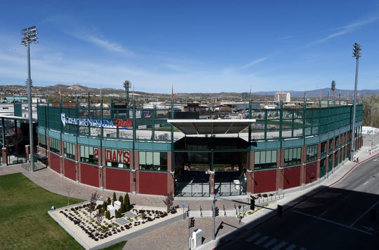 Greater Nevada Field will have protective netting around the infield next season.