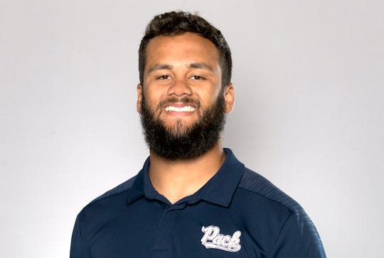 Nevada's Sam Hammond had nine tackles in the Wolf Pack's upset win at San Diego State.