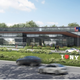 New York is on the verge of overhauling its 27 rest areas along the state Thruway. This is a conceptual design provided to bidders to give a sense of what the Thruway Authority is looking for when the rest stops are renovated.