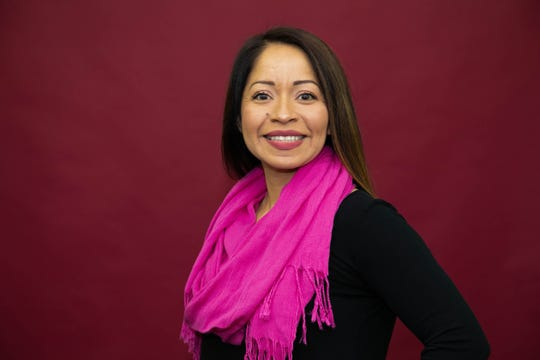 Joana Guevara Cruz, a teacher at Hallman Elementary School, was one of 12 Crystal Apple Award honorees announced Thursday, Nov. 14, 2019 at the Elsinore Theatre in Salem, Oregon.