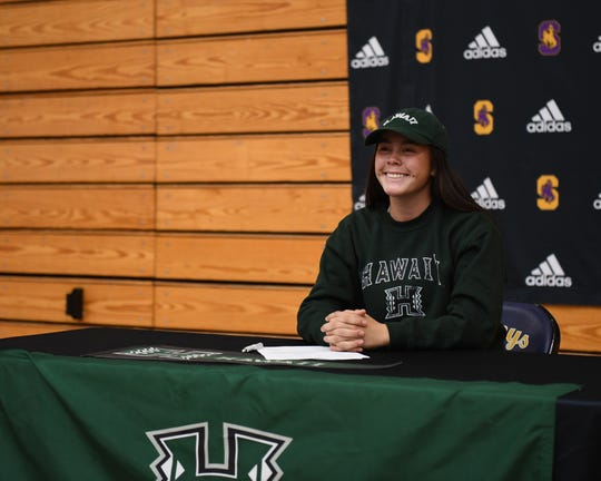 Softball standout Kayla Stone has consistently been one of the Cowboys' top hitters on the diamond over her career. Nov. 13, 2019.