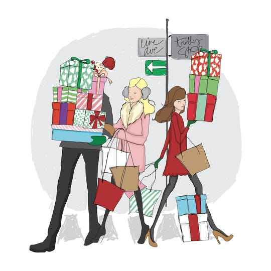 Tinsel: A Chauffered Shopping Experience will be from 5 p.m. to 9 p.m. Friday, Dec. 6 at participating Line Avenue retailers.