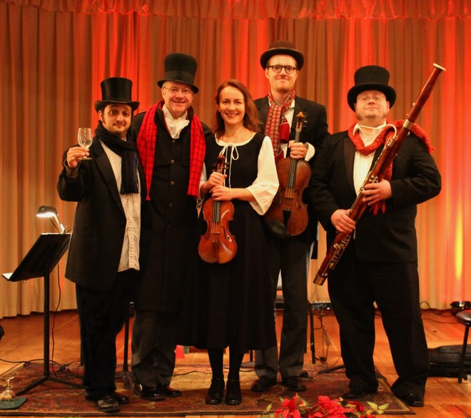 Members  of the South Dakota Symphony will be performing 'A Christmas Carol' at the Grand Opera House in Dell Rapids on Dec. 11.