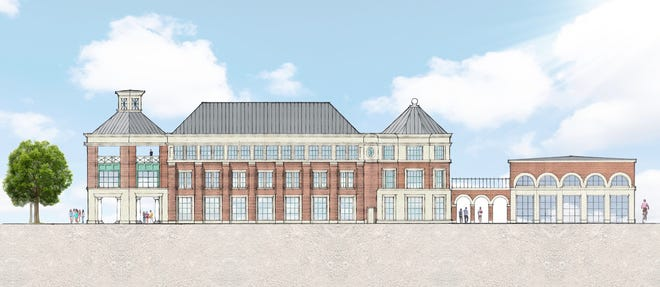 An artist rendering of the new Enterprise Center at Drury University, which is expected to break ground in the spring.