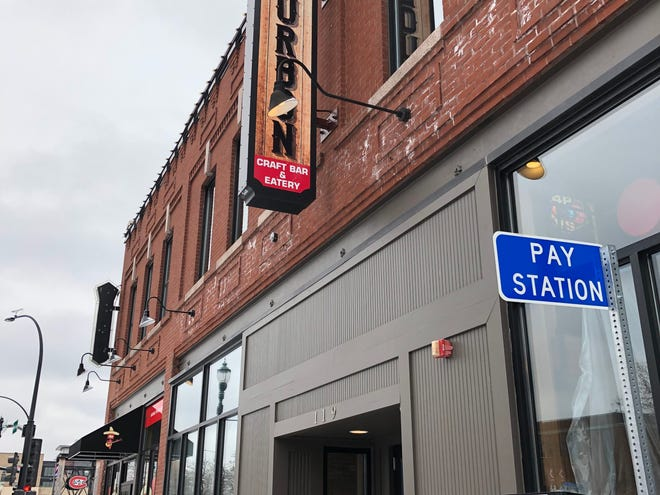 Brick & Bourbon is set to open to the public next week, according to a sign posted on its door.