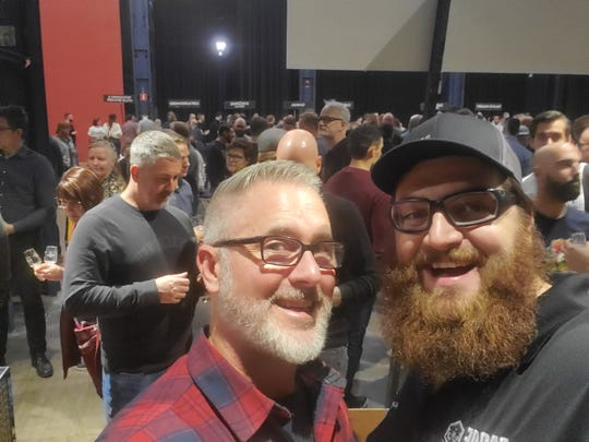 Proof's Byron Burroughs and head brewer David Kant-Rauch traveled to Sweden for a beer fest.