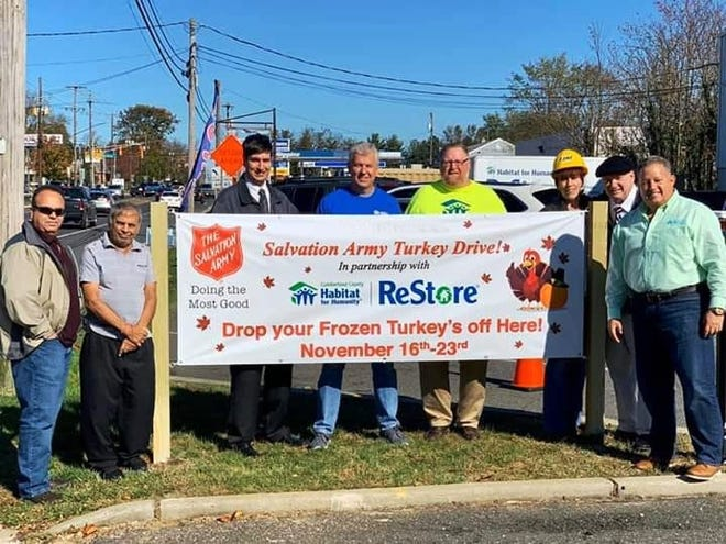 The Salvation Army Vineland Corps will host an official kickoff event for its annual Turkey Drive, with one of its partners, Cumberland County Habitat for Humanity ReStore, from 10 a.m. to 2 p.m. Nov. 16 at 601 S. Delsea Drive in Vineland.