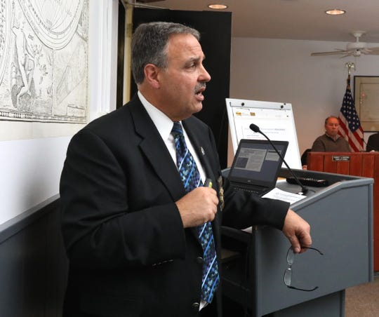 Rockland County Sheriff Louis Falco, speaking last month about his concerns about New York's new criminal justice laws, said Sunday after five people were stabbed at a rabbi's home that New York needs to address the new law when it comes to hate crimes.