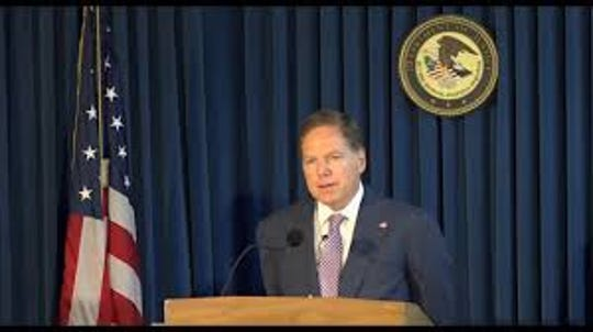 U.S. Attorney Geoffrey Berman for the Southern District of New York