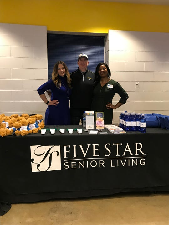 Five Star Senior Living staff and residents frequently attend University of Delaware games.