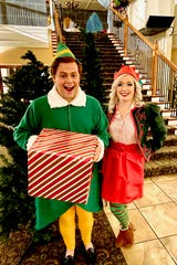 """ELF: THE MUSICAL"": 7:30 p.m. Dec. 6 & 7; 2 p.m. Dec. 8; and Fridays and Saturdays (with 2 p.m. matinees) through Dec. 21. Wichita Theatre, 10th and Indiana. $28 723-9037 or www.wichitatheatre.com."