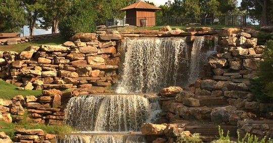The waterfall in Wichita Falls, Circle Trail and other outdoor features made the city a standout for a weekend adventure.