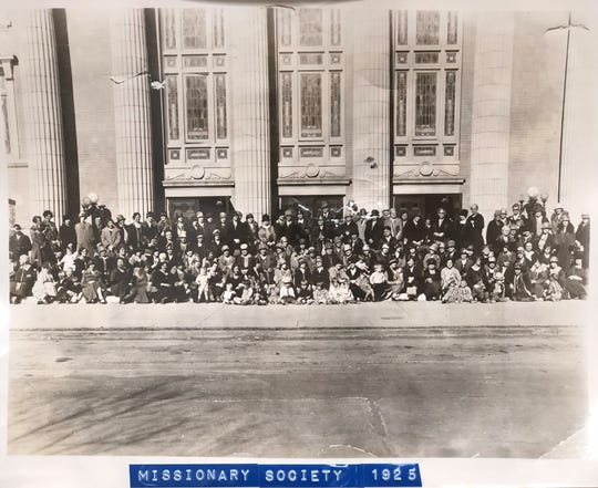 In this 1925 photo, the Women's Missionary Society from Floral Heights Methodist Church gathers. Floral Heights United Methodist Church celebrates its 100th anniversary with events on Nov. 16 and 17, 2019.