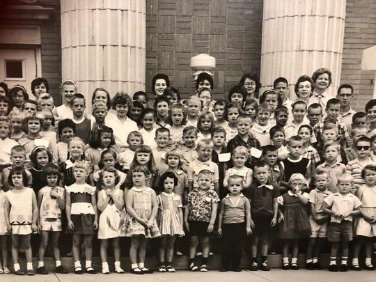 Children gather for vacation Bible school at Floral Heights United Methodist Church in this 1961 photo. The church celebrates its 100th anniversary with events Nov. 16 and 17, 2019.