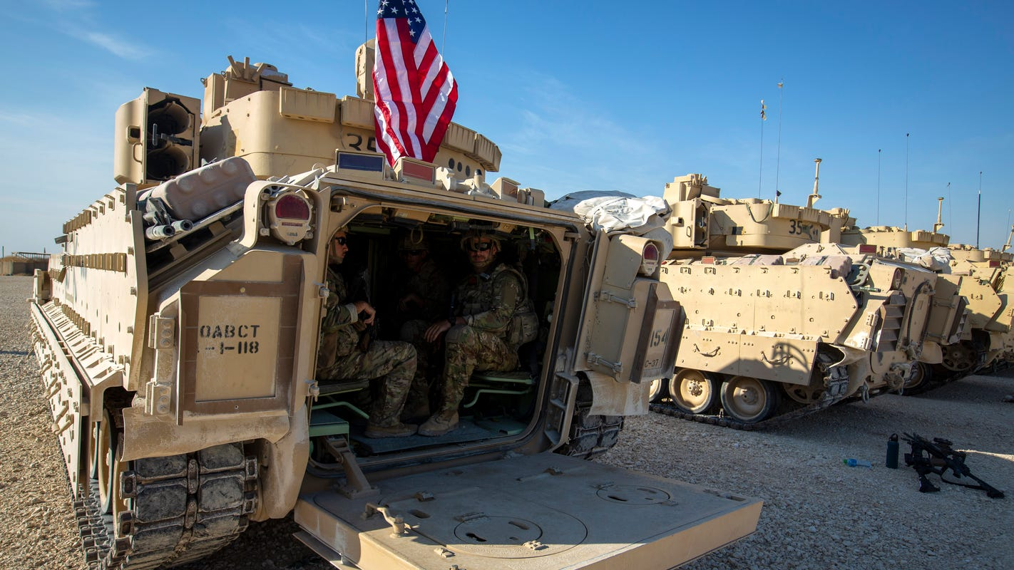 Pentagon: President Trump's order to withdraw troops from Syria allows ISIS to rebuild