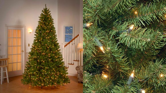 This tree ticks all the boxes—multiple size options, great design, easy to assemble, and a realistic look.