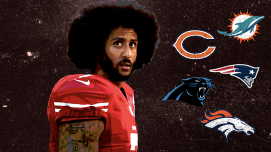 Which NFL teams would be a fit for Colin Kaepernick? Ranking all from 32 to 1