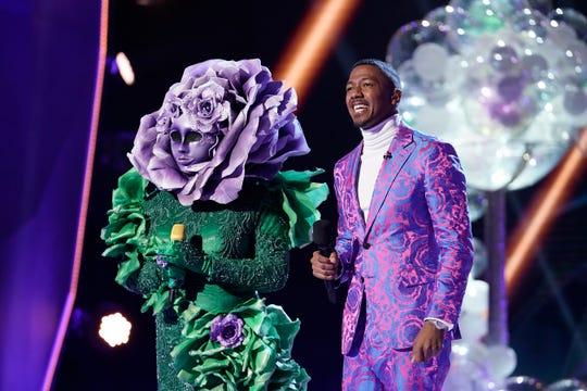 who is the flower on the masked singer
