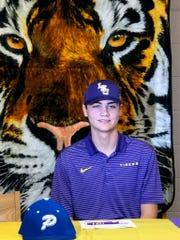 Pitkin baseball's Garrett Edwards signed with LSU baseball Wednesday.