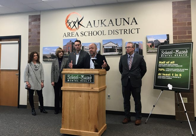 State Rep. Jim Steineke, R-Kaukauna, introduced a proposal Thursday that would connect Outagamie County school employees with child psychiatrists at the Medical College of Wisconsin to provide faster care for struggling children.