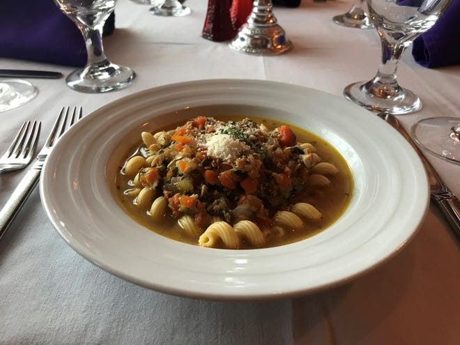When it comes to a soup worthy of a creative writing exercise, few beat Scott's Old-Fashioned Chicken Noodle Soup, made by Scott Earick of Scott's on Fifth in Indialantic.