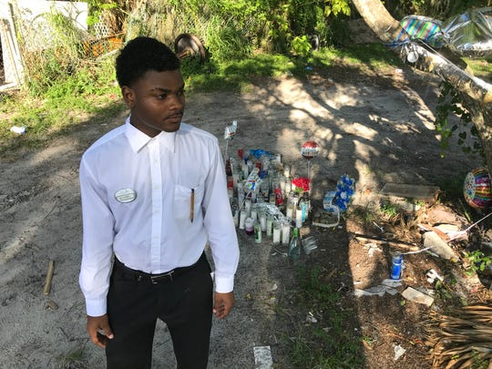 Quamel Wynn, 19, is asking for more mentors to focus on northeast Palm Bay and south Melbourne.
