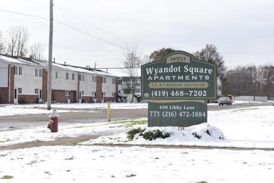 The Wyandot Square Apartments are on Galion's south side at 430 Libby Lane.