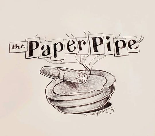 The Paper Pipe's logo.