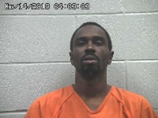 Roshan Cummberlander at the Crawford County Jail.