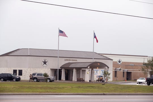 London ISD schools are on FM 43 outside Corpus Christi city limits, in the direction Corpus Christi is expected to grow in coming years.