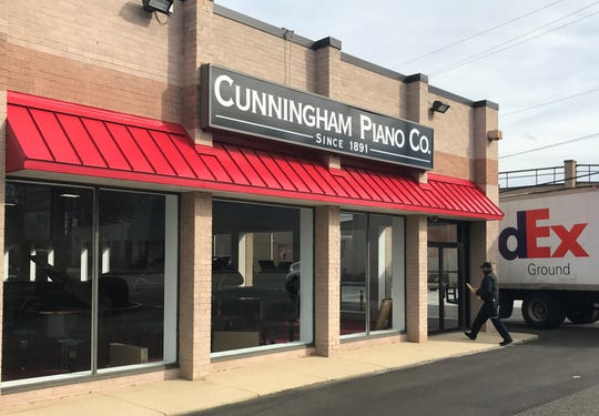Cunningham Piano Co. will open a store Saturday on Route 70 in Cherry Hill.