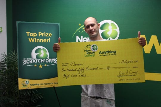 A lottery player identified only as Thomas A. by New Jersey lottery officials won $150,000 from a scratch-off ticket. It's the second big lottery win in recent years for the Pitman resident.