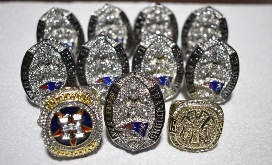 U.S. Customs and Border Protection officers seized this counterfeit rings in a mail shipment from China.