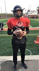 Lawrenceburg sophomore quarterback Garrett Yoon, November 14, 2019