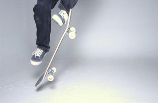 Injuries from using a skateboard are one of the leading causes of children going to emergency rooms and potentially getting opioids for pain, a new study shows.