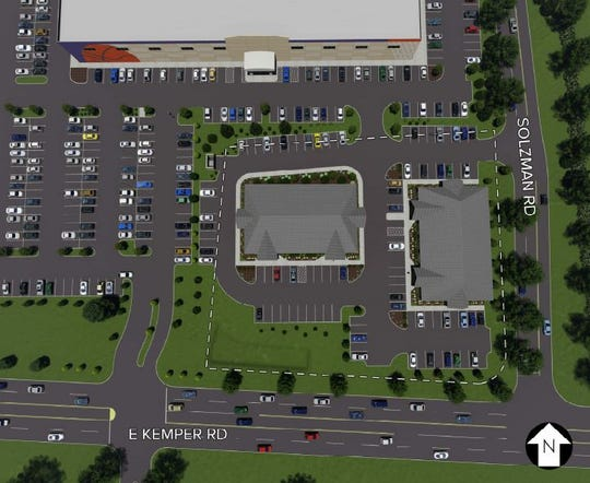 Developer Robert Lucke wants to build two new office buildings in Kenwood.