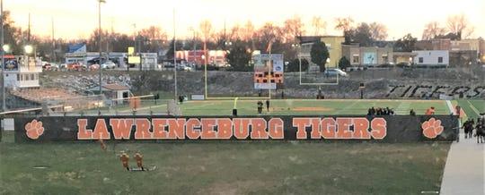 Lawrenceburg football practice, November 14, 2019