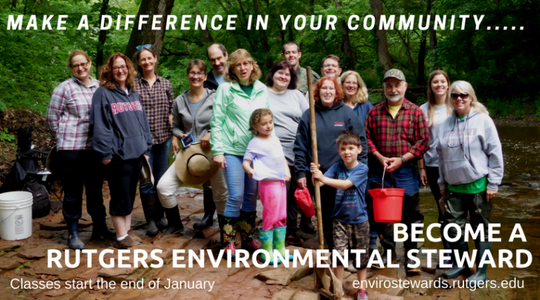 Union County residents who are interested in improving environmental health in their communities canjoin the Rutgers Environmental Stewards of Union County.