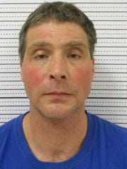 Allen Ray Love Jr., 47, shown in his Fayette County Jail mugshot.
