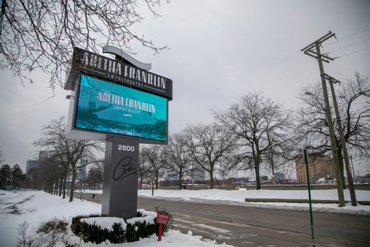 The Aretha Franklin Ampitheatre was formerly known as Chene Park