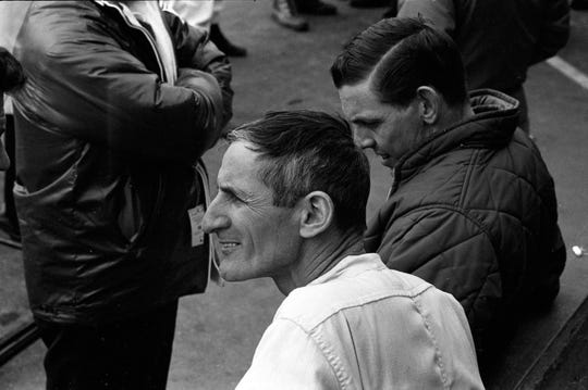 Ken Miles was Shelby's competition director. A successful US racer, he was thrust into the international limelight as the Ford GT40's chief engineer and driver.