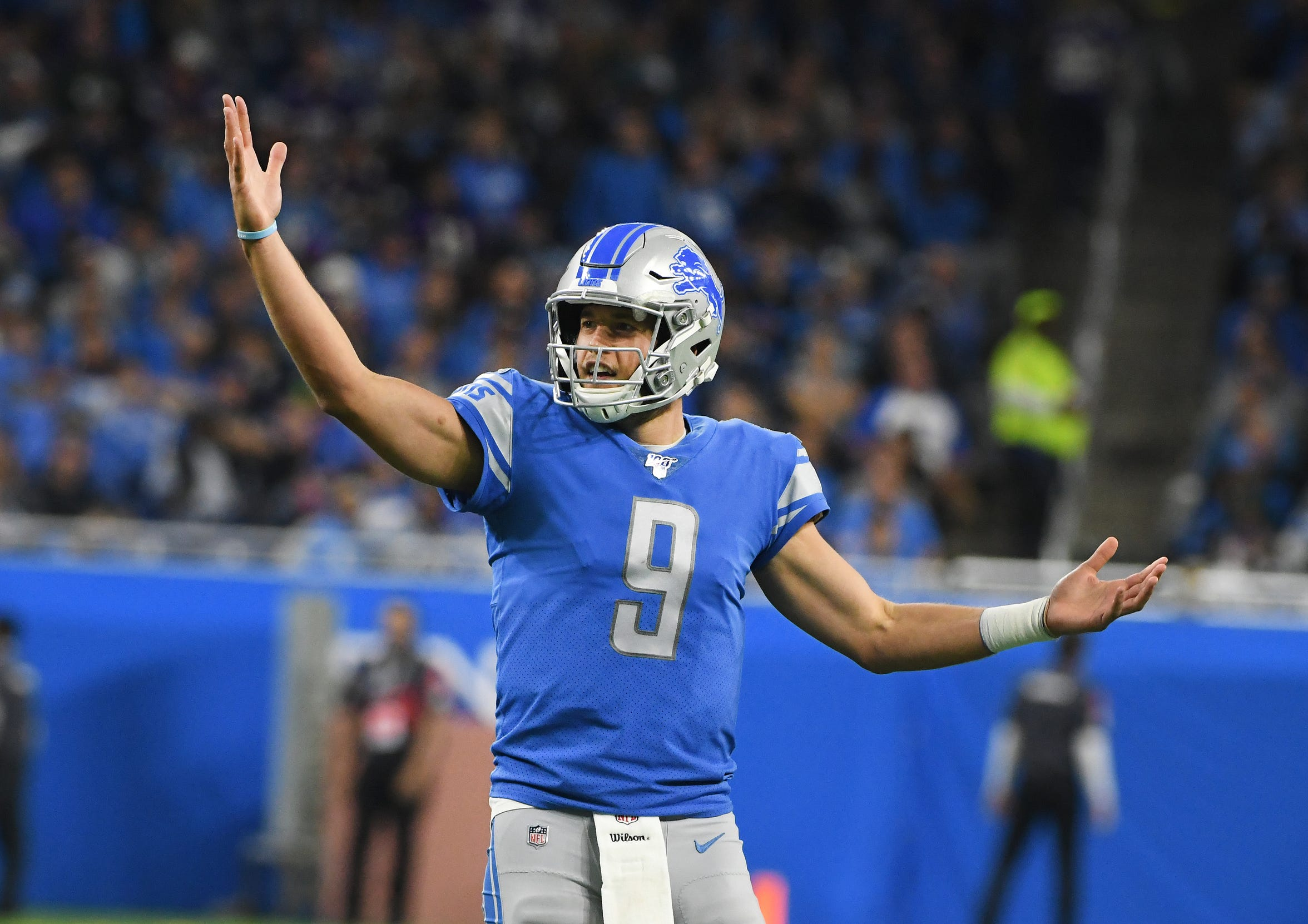 The Lions and quarterback Matthew Stafford are 3-5-1, and appear to be headed to another season without a playoff appearance.