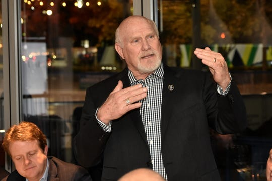 NFL Legend and Hall of Fame Quarterback Terry Bradshaw at Parc restaurant.
