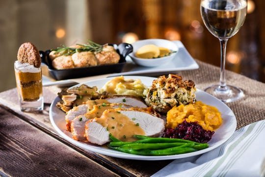 Seasons 52 in Troy is open on Thanksgiving Day.