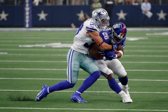 Safety Jeff Heath, a Saginaw Valley State product, is in his seventh season with the Dallas Cowboys.
