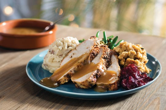 Bahama Breeze in Livonia is open Thanksgiving serving a traditional dinner with an island twist.